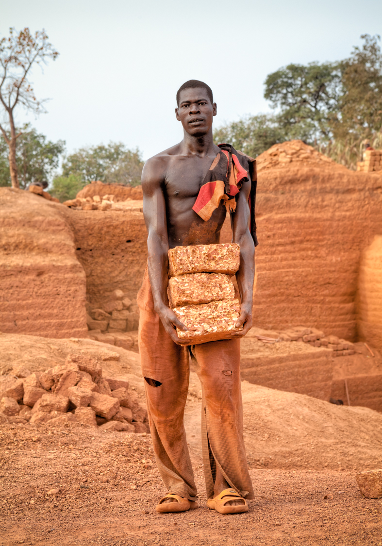 Photos excerpted from Karaba Brick Quarry, Burkina Faso