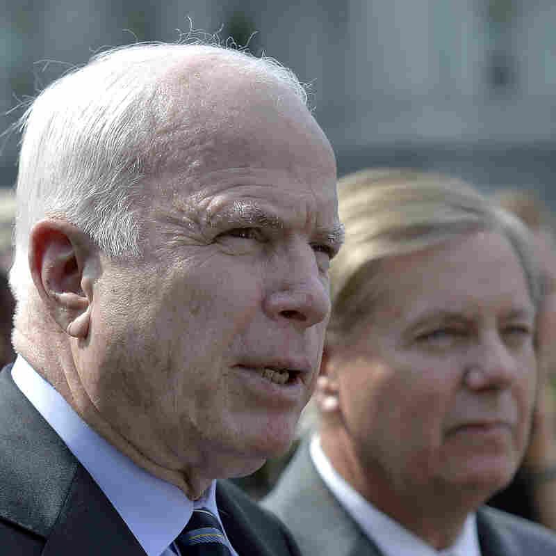 McCain Says Right Strikes Can Hurt Assad's Capabilities