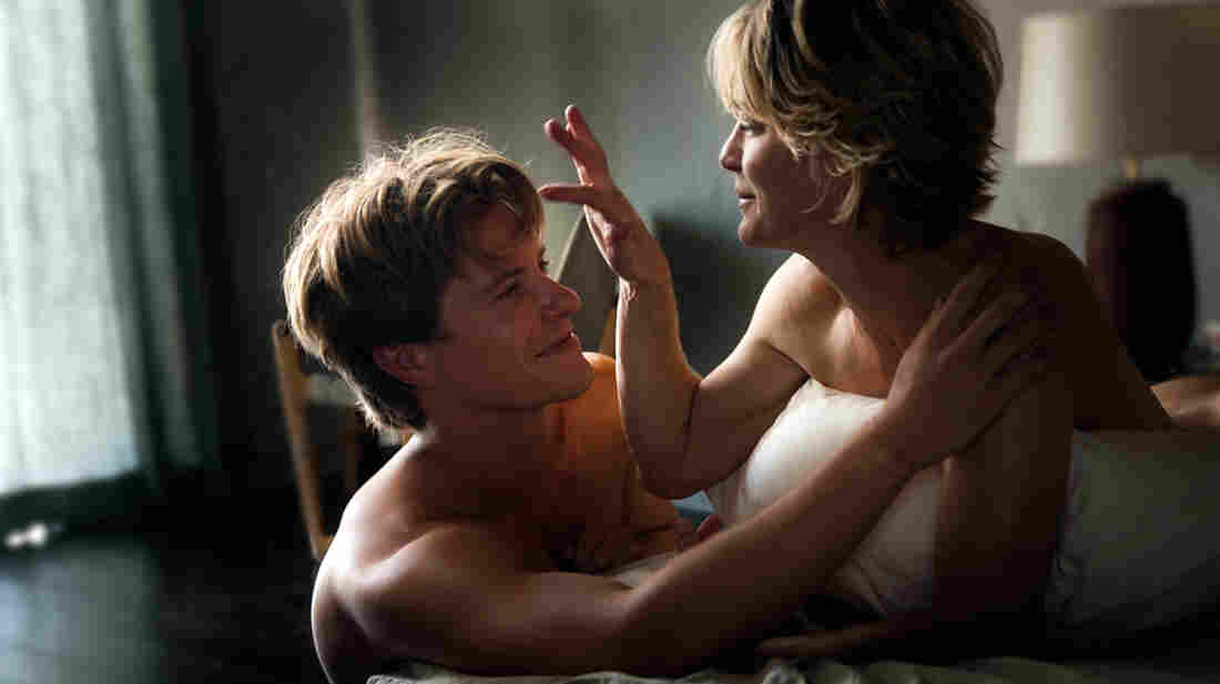 """It's a family film:  Xavier Samuel and Robin Wright play one of two intergenerational couples at the center of Anne Fontaine's Adore, a film that dares to ask: """"Does it count as a mommy issue if you're sleeping with her lifelong best friend?"""""""