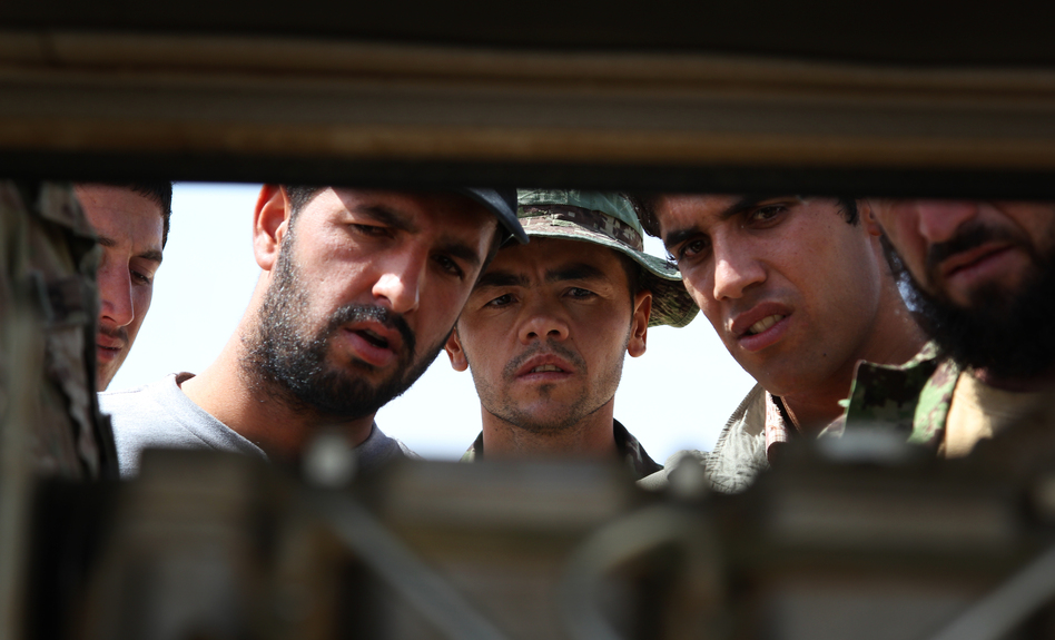 How To Build An Afghan Army, In A Million Difficult Steps | WBUR News