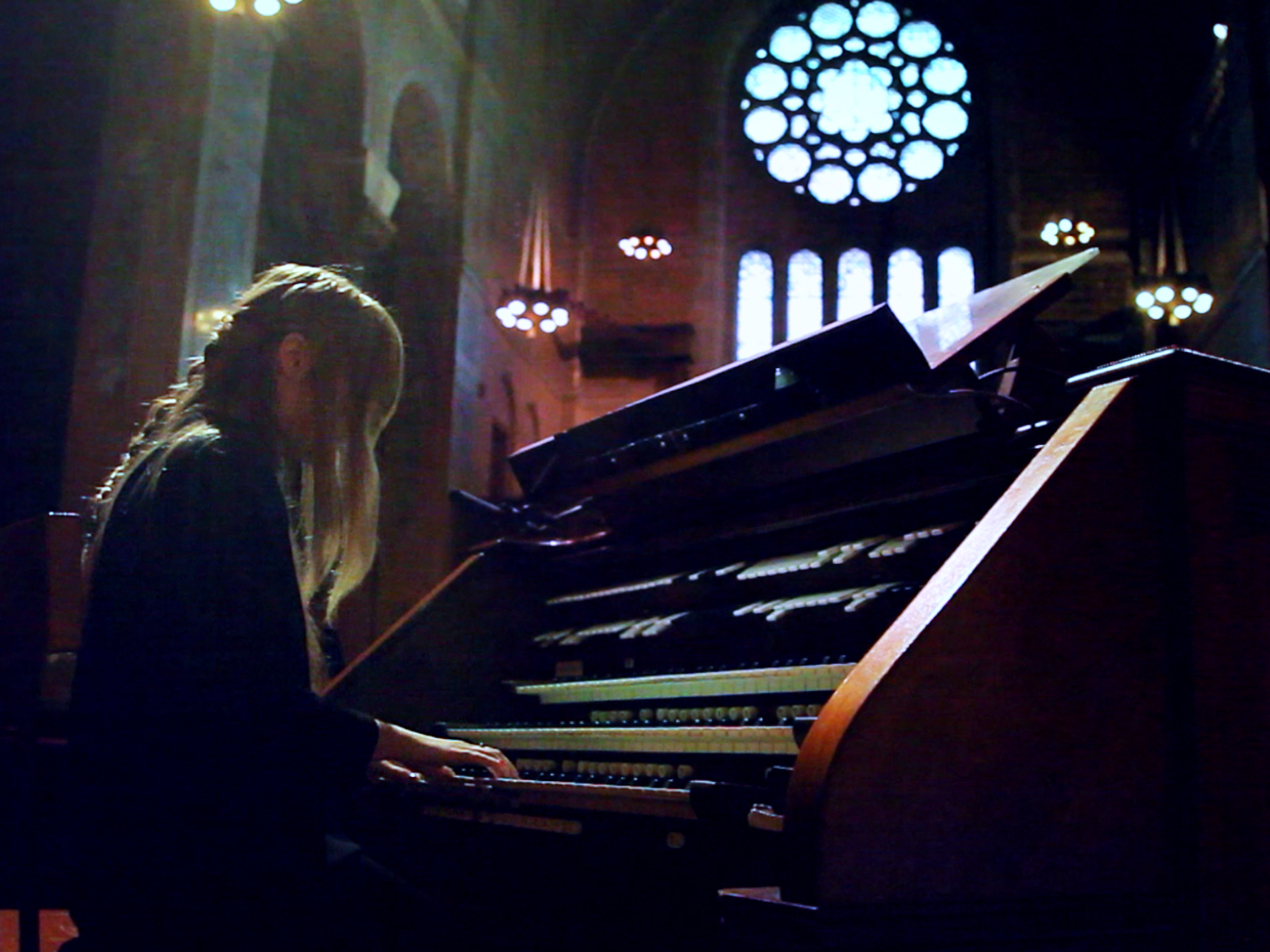 Andrea Echeverri: Anna Von Hausswolff Finds A Pipe Organ In New York City : NPR