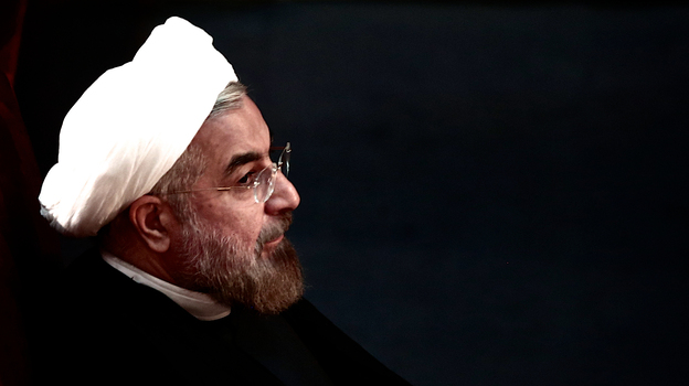 Did Iranian President Hassan Rouhani tweet a greeting to the world's Jews on Rosh Hashana? (AFP/Getty Images)