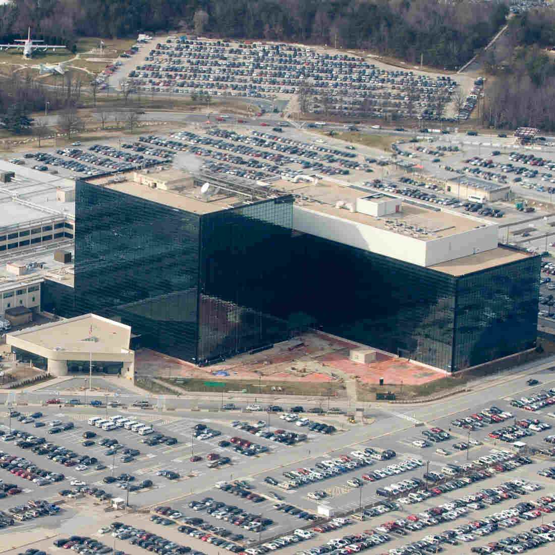 The National Security Agency headquarters at Fort Meade, Md.
