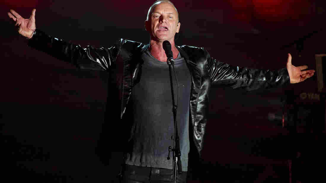 Sting, performing in June, defended his 2010 performance in Uzbekistan.
