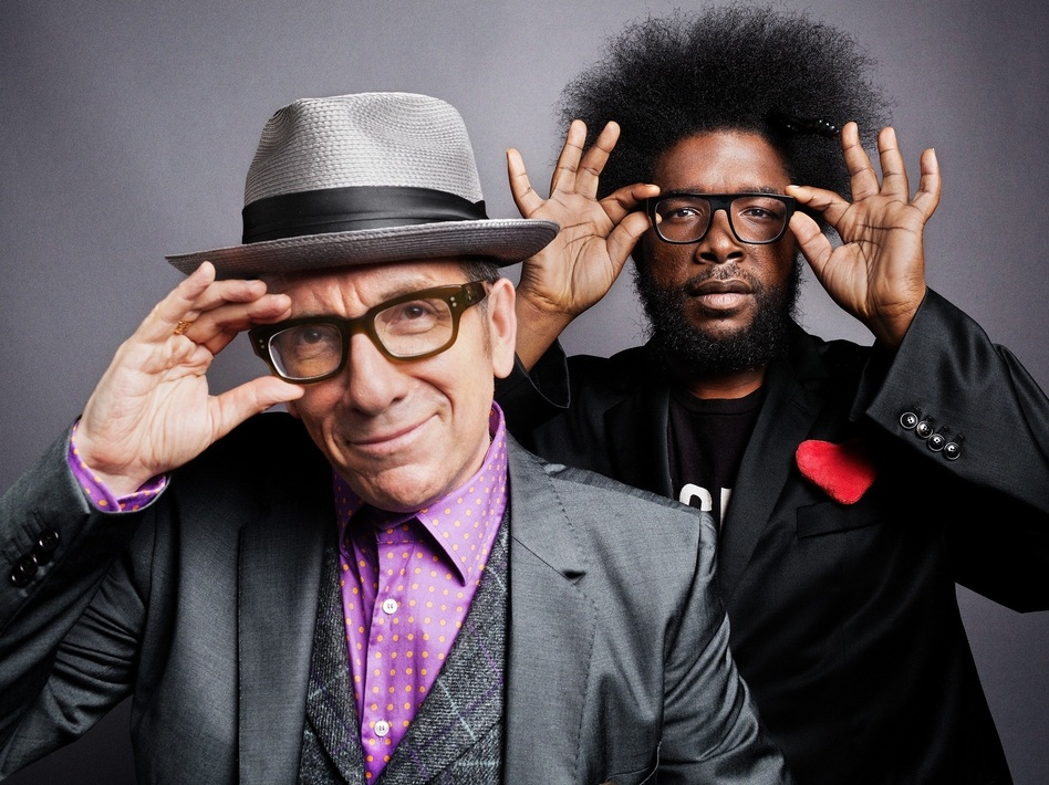 Elvis Costello and The Roots' new album, Wise Up Ghost, comes out Sept. 17.