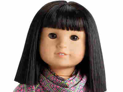"""For $110, you can buy a doll of Ivy Ling — """"Julie's best friend"""" — and her """"dark, almond-shaped eyes that open and close."""""""