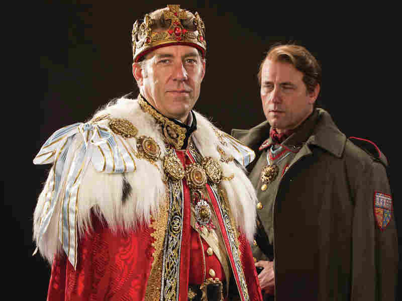 David Ivers and Larry Bull are king and king-to-be in the Utah Shakespeare Festival's Richard II. The production is part of an ambitious gambit: all 10 of the Bard's English histories, staged in chronological order.
