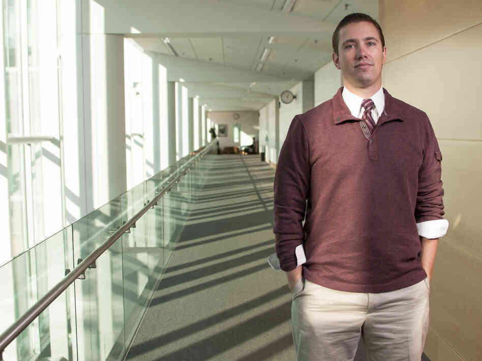 After serving almost 11 years in federal prison for bank robbery, Shon Hopwood is a law student at the University of Washington. He's landed a prestigious law clerk's position wit