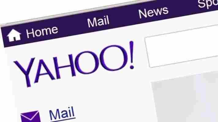 The new Yahoo look.