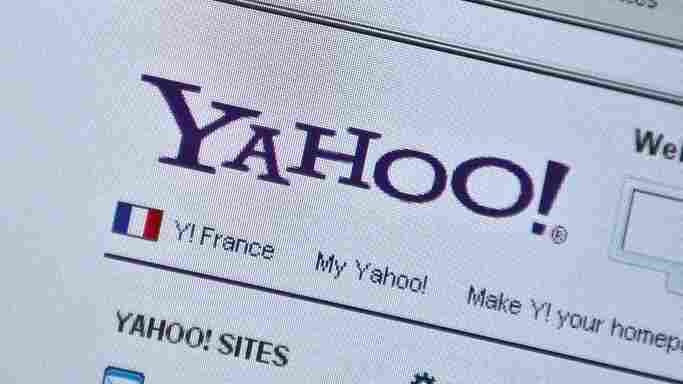 The old Yahoo look.