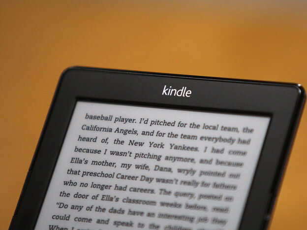 Amazon's Kindle e-reader. Apple has been ordered to