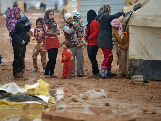 At the Zaatari refugee camp in Jordan, many families struggle to get clean water, food and health services.