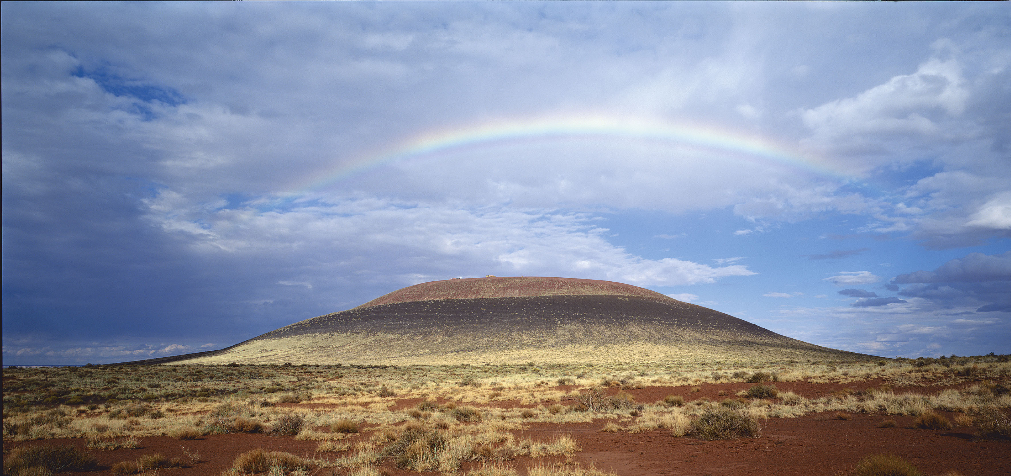 Forty years ago, Turrell purchased the Roden Crater in northern Arizona. He has been working to turn the extinct volcanic crater into a work of art for the last three decades.