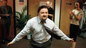 Ricky Gervais, who played the role of boss David Brent in the original British version of The Office.