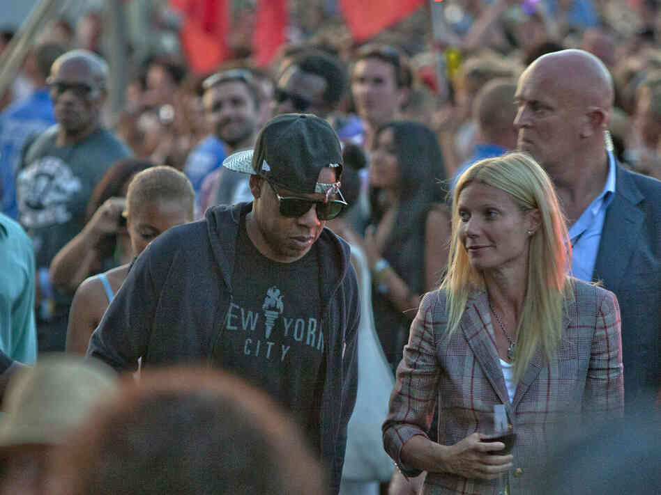 The actress Gwyneth Paltrow tweeted the N-word while at a Jay Z/Kanye West concert. Her music industry friends shrugged it off. Twitter did not.