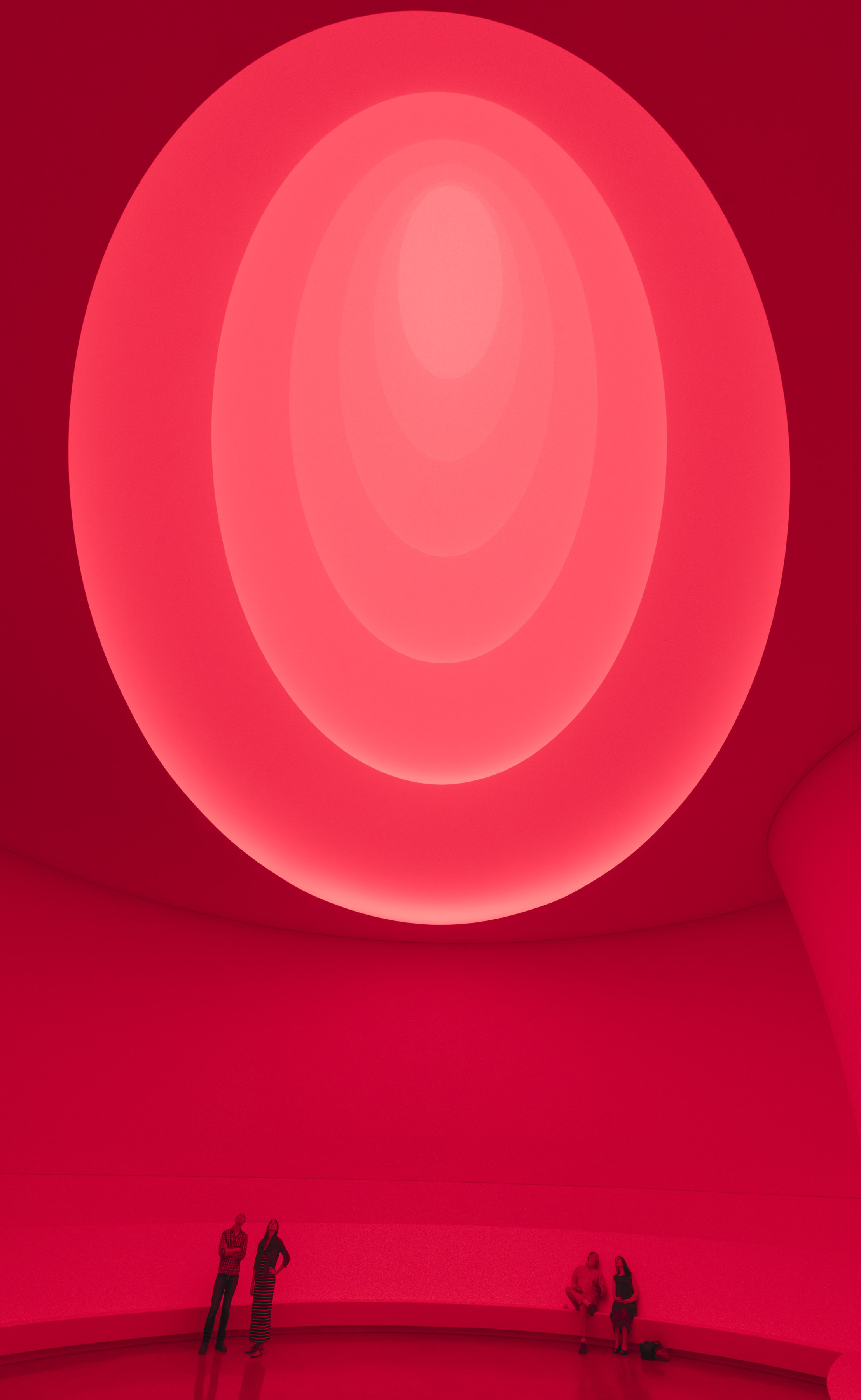 "Turrell describes Aten Reign as ""an architecture of space created with light."" Click here to learn more about it."