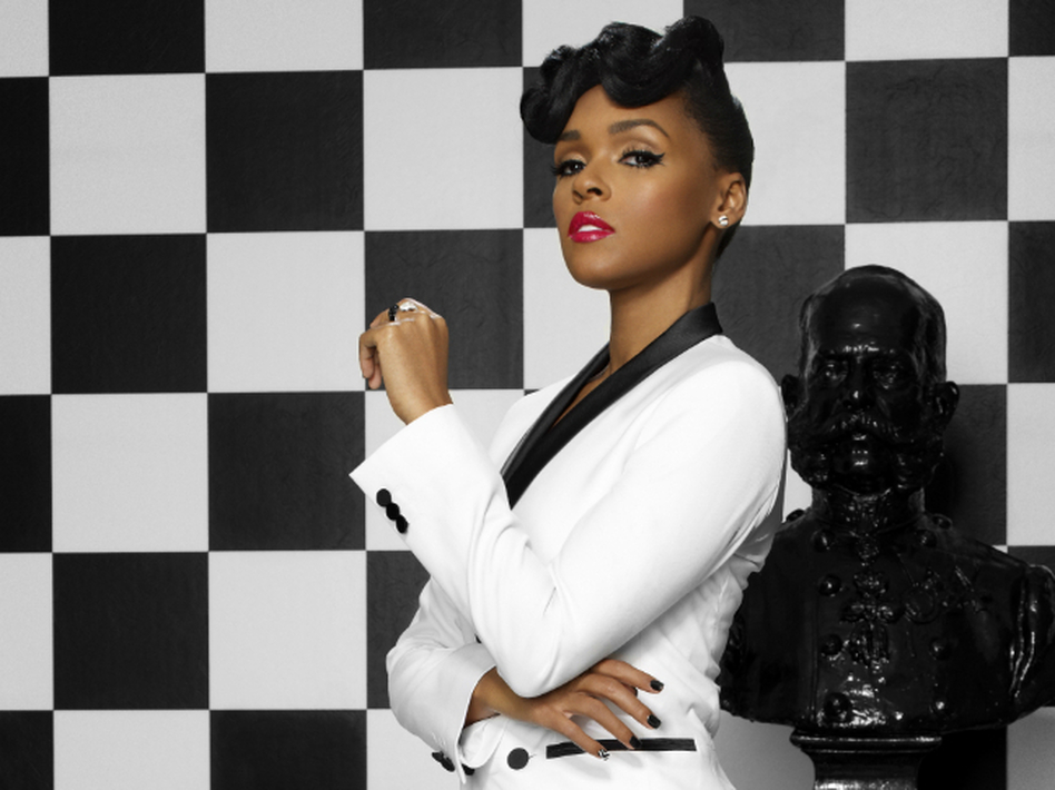 Janelle Monáe's new album, The Electric Lady, features collaborations with Prince, Erykah Badu, Miguel and Esperanza Spalding.