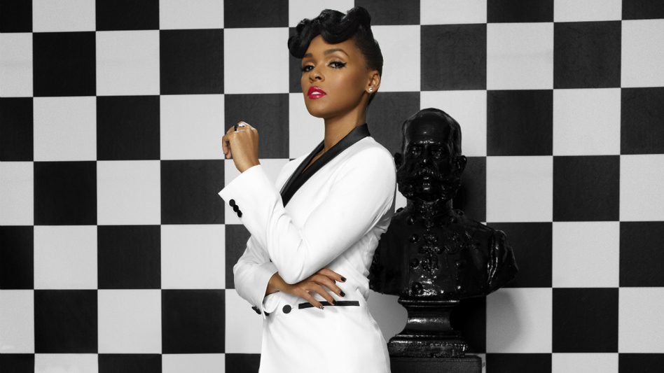 Janelle Monáe's new album, The Electric Lady, features collaborations with Prince, Erykah Badu, Miguel and Esperanza Spalding. (Courtesy of the artist)