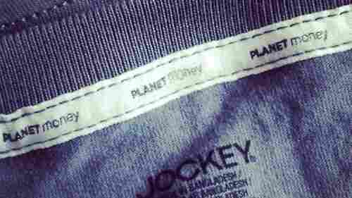 Planet Money T-shirt detail
