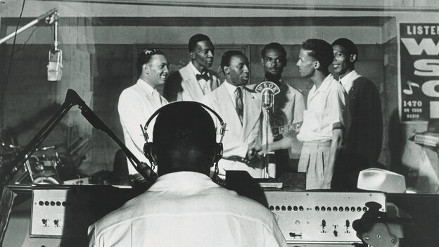 The Prisonaires, a band formed in a Memphis-area prison, created one of Sun Records' early hits.