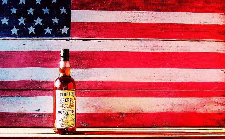 America's Signature Whiskey: Some craft distilleries, like Catoctin Creek in Virginia, are making a whiskey that's 100 percent rye to showcase the grain's spicy, peppery flavor. (Courtesy of Catoctin Creek)