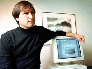 Steve Jobs in April 1993.