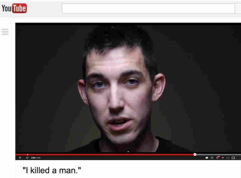 An image from the video confession of Matthew Cordle.