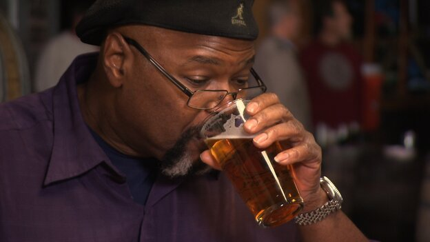 Michael Ferguson, of the BJ's Restaurants group, is one of only a small handful of African-Americans who make beer for a living.