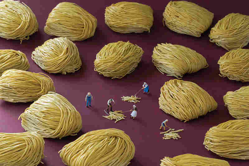 "Noodle Haystacks: ""During harvest time, all the cult members had to pitch in, even Prophet Geoffrey himself."""