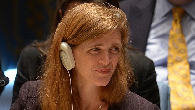 Samantha Power, the U.S. ambassador to the U.N., called military action in Syria legitimate and necessary. (AFP/Getty Images)