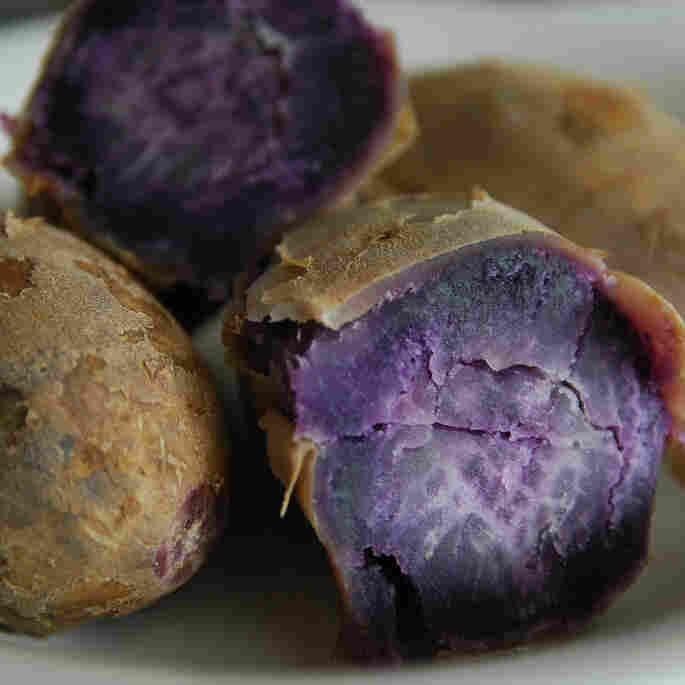 Purple Sweet Potato A Contender To Replace Artificial Food Dyes
