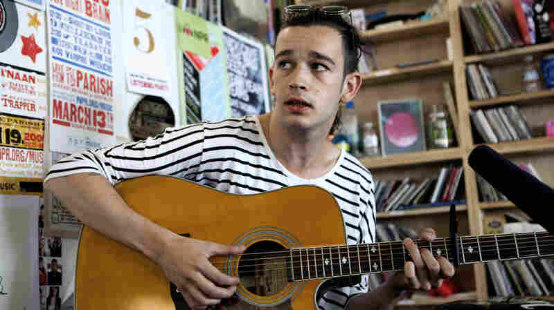 The 1975 performs a Tiny Desk Concert in June 2013.