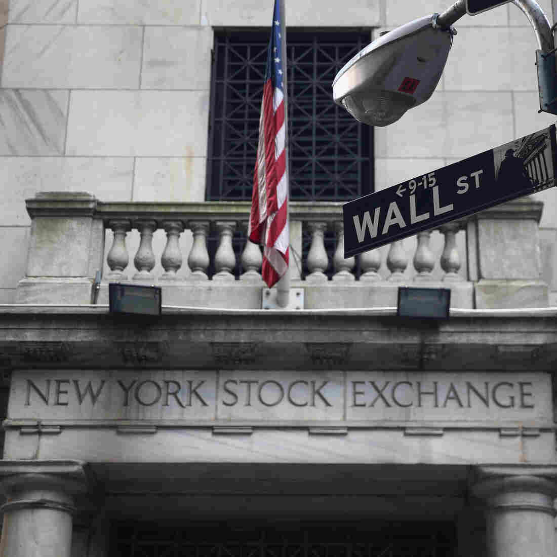 The New York Stock Exchange building photographed last month.