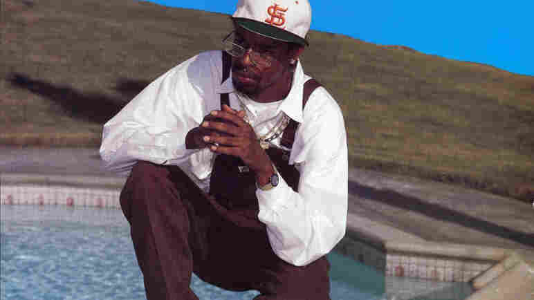 Andre Hicks, who performed under the name Mac Dre, on the cover of his album What's Really Going On?