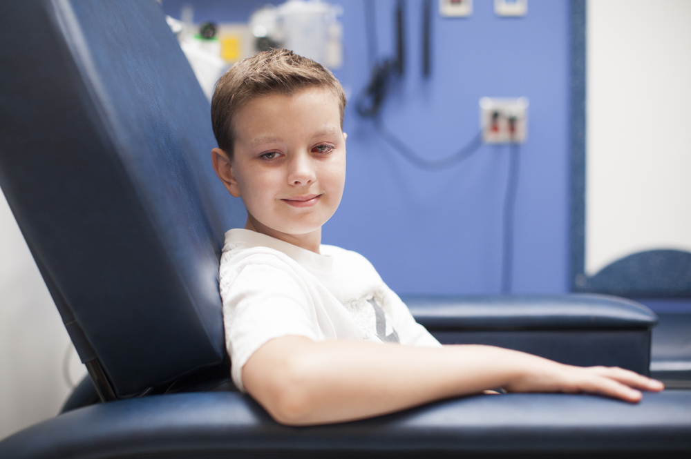 Brain surgery didn't dampen 12-year-old Carver Faull's sense of humor or love of bad jokes.