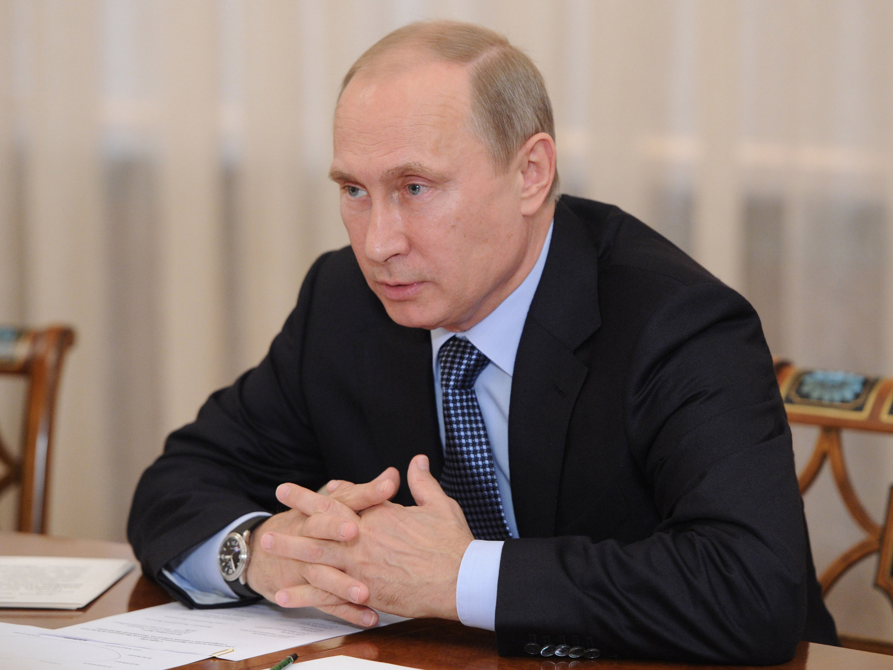 Challenging Obama, Putin Appeals Directly To Americans On Syria