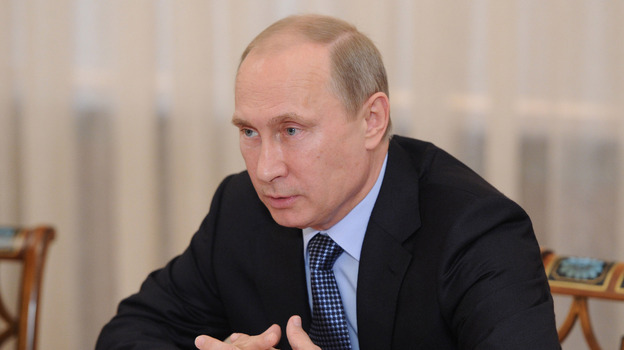 Russian President Vladimir Putin penned an op-ed in The New York Times to counter President Obama's arguments about possible military strikes against Syria. (ITAR-TASS /Landov)