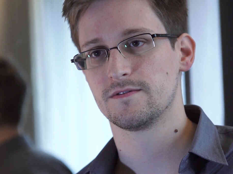 According to Barton Gellman, Edward Snowden (above) specifically asked journalists not to make all the documents he leaked available to the public.