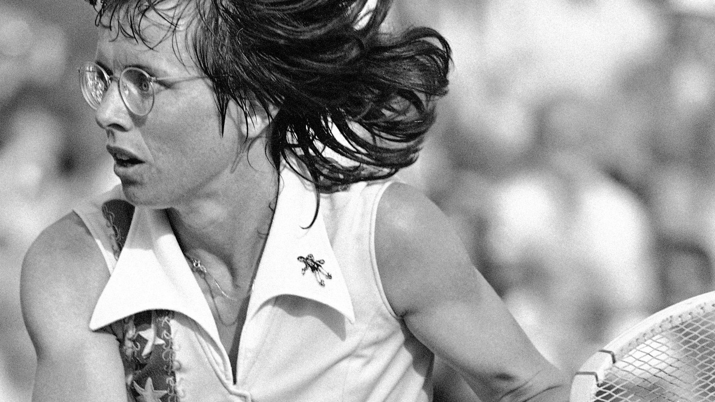 Pioneer Billie Jean King Moved The Baseline For Women s Tennis NPR