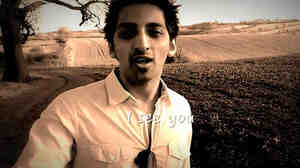 Tapas Mukherjee shot this  asthma education video in a field near his home.