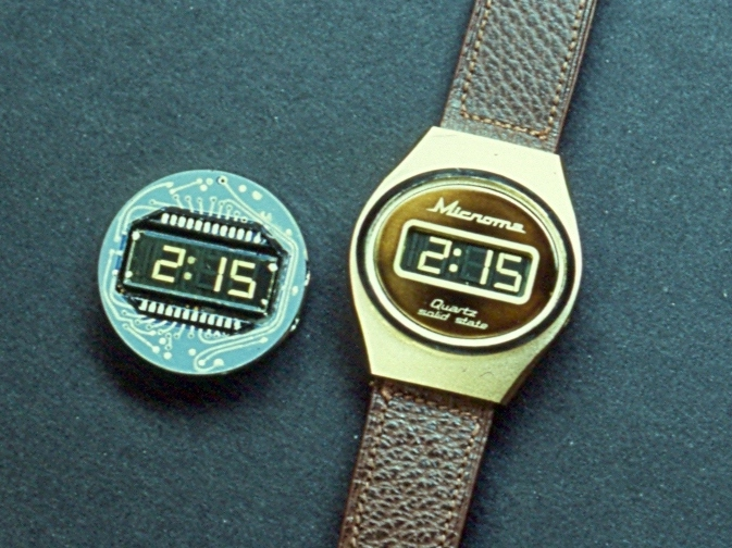 Long Before Most, Intel Chased The Smart Watch : All Tech Considered : NPR