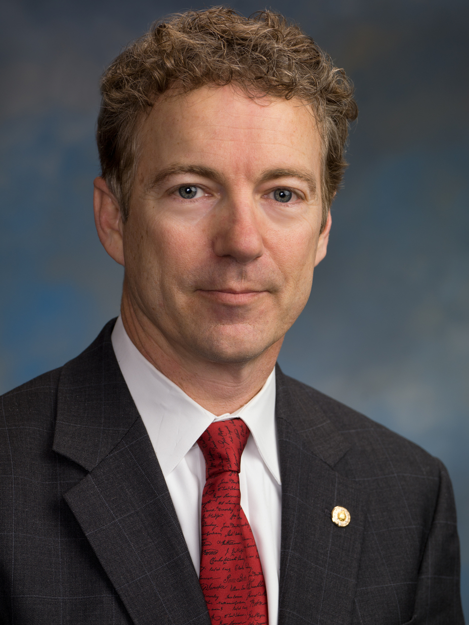 Sen. Rand Paul of Kentucky is a member of the Foreign Relations Committee.