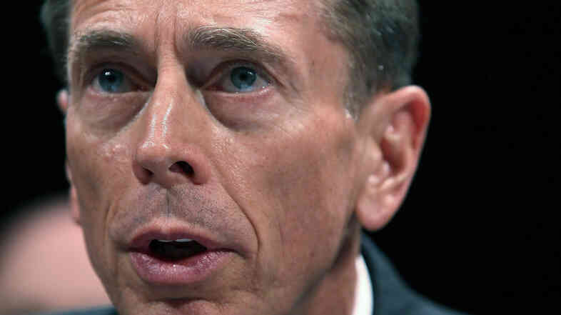 David Petraeus resigned as head of the CIA in November, citing an extramarital affair.