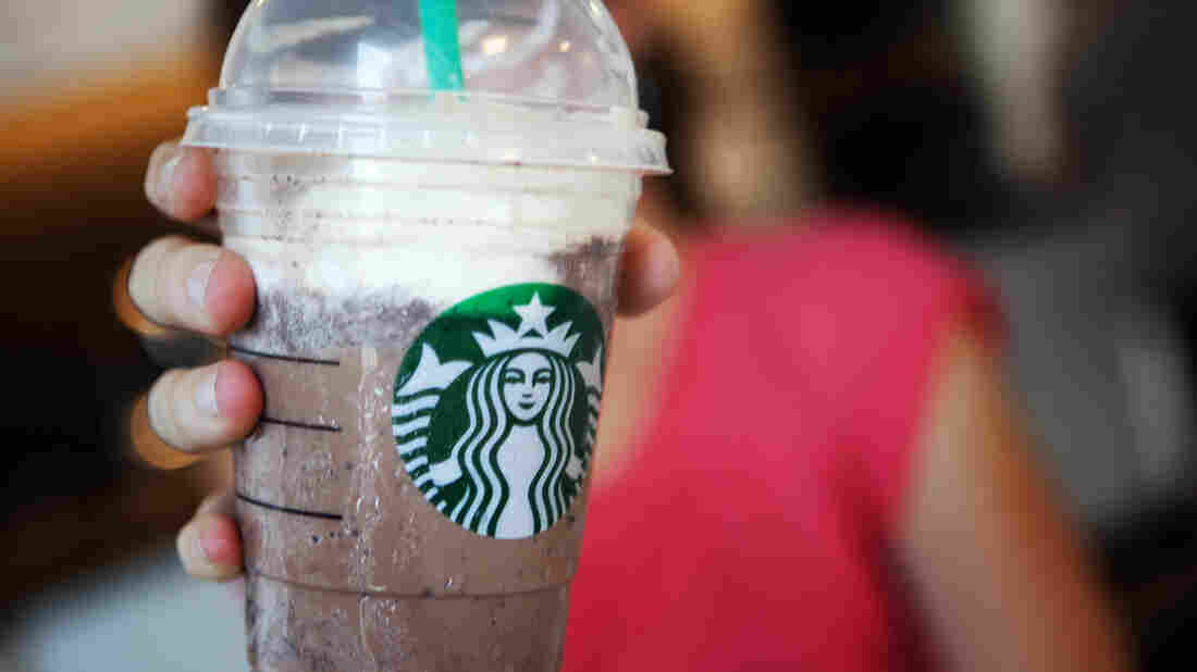 A frozen blast from the past? The Earl of Sandwich didn't put cream or coffee in his frappe, like Starbucks does, but he understood the winning combination of chocolate and ice.