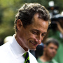 Anthony Weiner on Tuesday, before the results came in and before he waved goodbye.