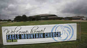 The Eagle Mountain Church in Newark, Texas, was linked to at least 21 cases of measles this year, mostly in children.