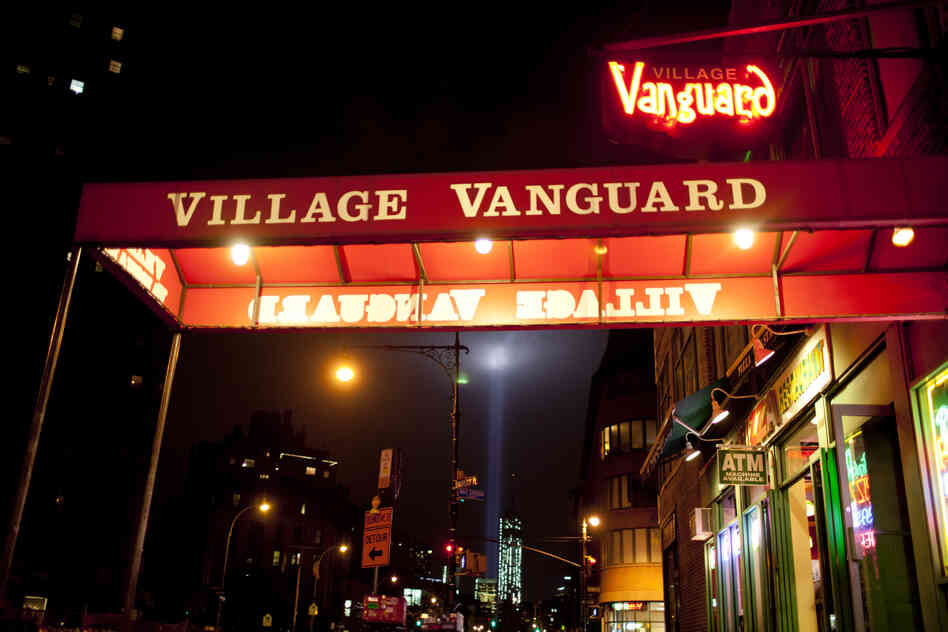 Outside the Village Vanguard.