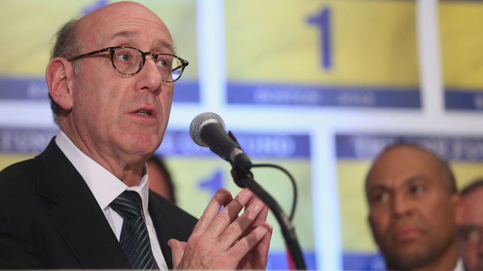 Kenneth Feinberg speaks at a press conference on the One Fund, established for victims of the Boston Marathon bombings. (Getty Images)