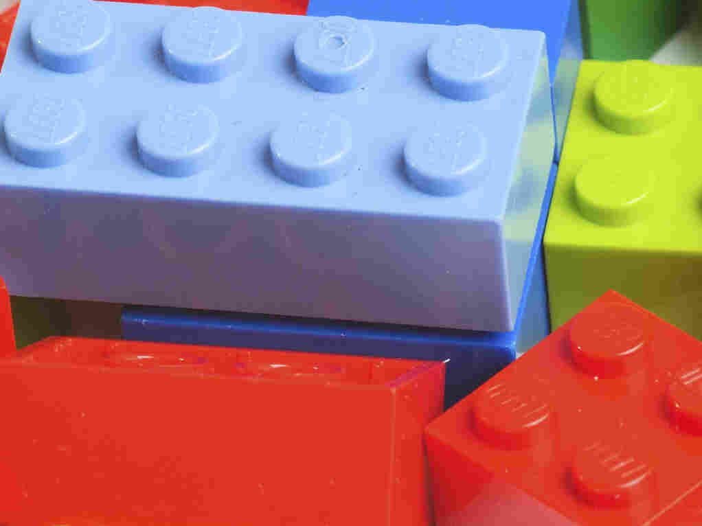 Lego blocks.