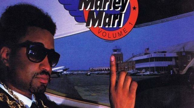 Marley Marl on the cover of In Control Vol. 1.